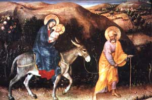 Flight of Mary and Joseph to Egypt
