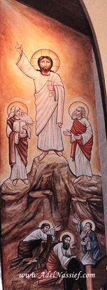 Picture of the Transfiguration of jesus