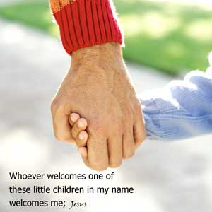 welcome a child in my name